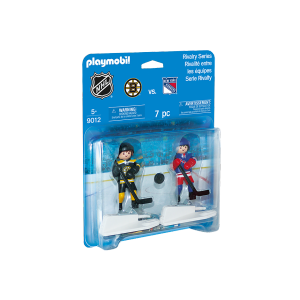 Playmobil - LNH Rivalité - Boston Bruins VS New York Rangers #9012