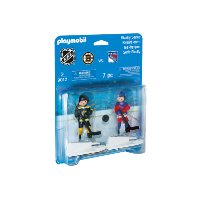 Playmobil - LNH Rivalité - Boston Bruins VS New York Rangers #9012