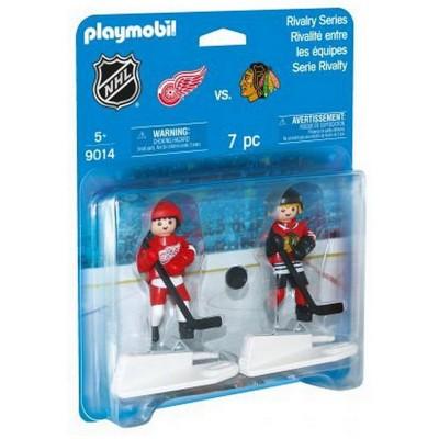 Playmobil - LNH Rivalité Blister-Chicago VS Détroit #