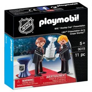 Playmobil - LNH Présentation Coupe Stanley #9015