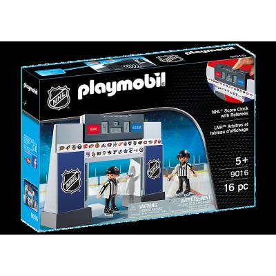 Playmobil - LNH Arbitres + Tableau d'Affichage #9016