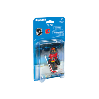 Playmobil - LNH Calgary Flames Goalie #9024