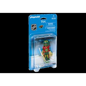 Playmobil - LNH Gardien de But Minnesota #9038