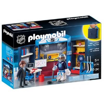 Playmobil - LNH Coffret du Vestiaire #9176