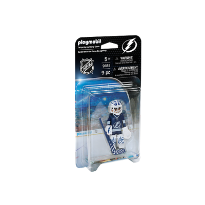 Playmobil - LNH Gardien de But Tampa Bay Lightning #9185