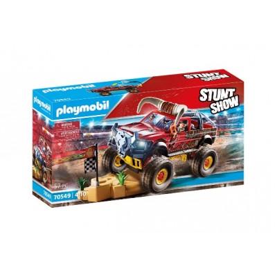 Playmobil - StuntShow 4x4 de cascade Taureau #70549
