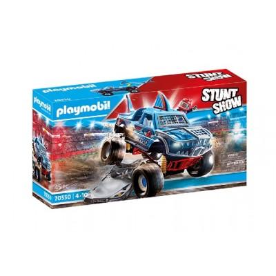 Playmobil - StuntShow Monster truck de cascade Requin #70550