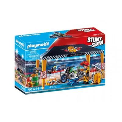 Playmobil - StuntShow Atelier de réparation #70552