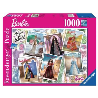 Casse-Tête / 1000 mcx : Barbie - Autour du Monde