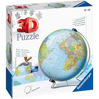 Casse-Tête 3D Sphère (540 pièces) : Globe Terrestre