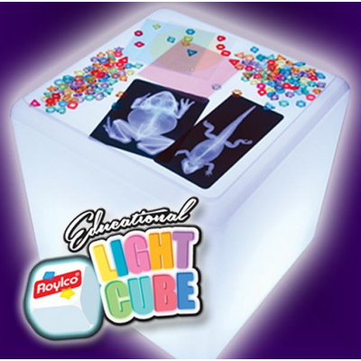 Cube lumineux éducatif
