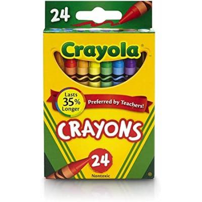 Ensemble de Crayons de Cire Crayola : 24