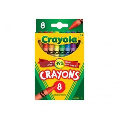 Ensemble de Crayons de Cire Crayola : 8