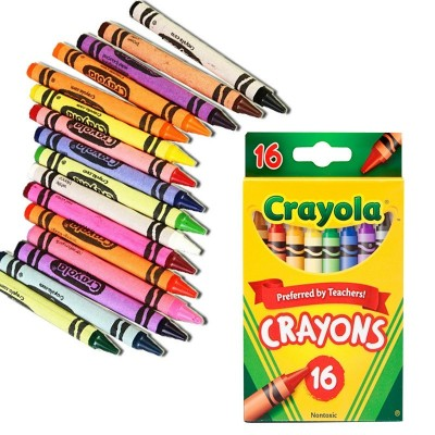 Ensemble de crayons de cire: 16