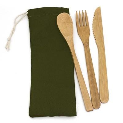 Ensemble de 3 Ustensiles en Bambou