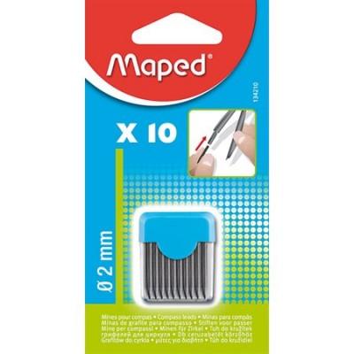 Mines à compas Maped/10 HB