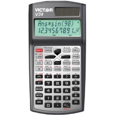 Calculatrice Scientifique Solaire Victor #V34