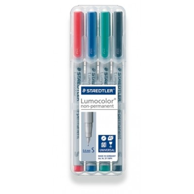 Crayons Acétate Lavable Pointe Super Fine
