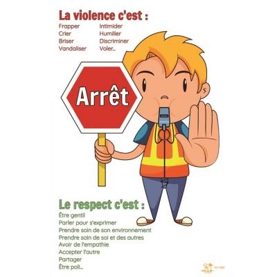 Affiche: La violence c'est...