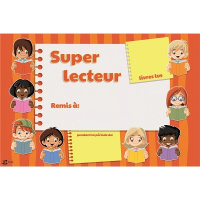 Certificat: Super Lecteur