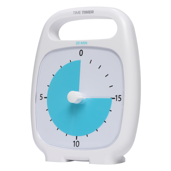 Horloge: Minuterie sonore 20 minutes (18cm)