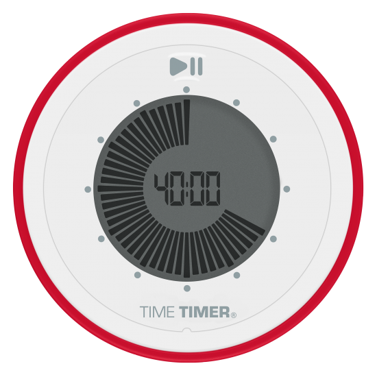 "Horloge: Minuterie sonore ""twist"" (7.5cm)"