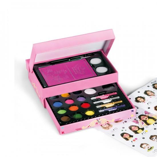 Petit Coffret Cadeau de Maquillage pour le Visage
