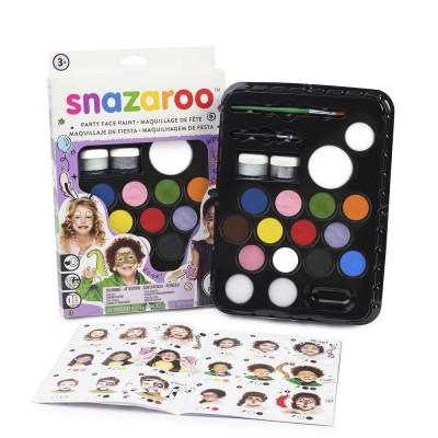 Ensemble de Maquillage Snazaroo : Ultimate Party Pack