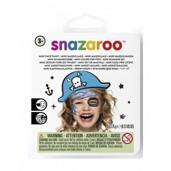 Mini Kit de Maquillage Snazaroo (10 Options d'Ensemble)