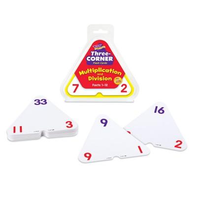 Cartes-éclaire (3 coins): Multiplication et division