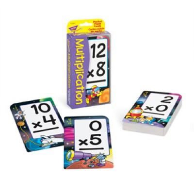 Cartes-éclaire: Multiplication