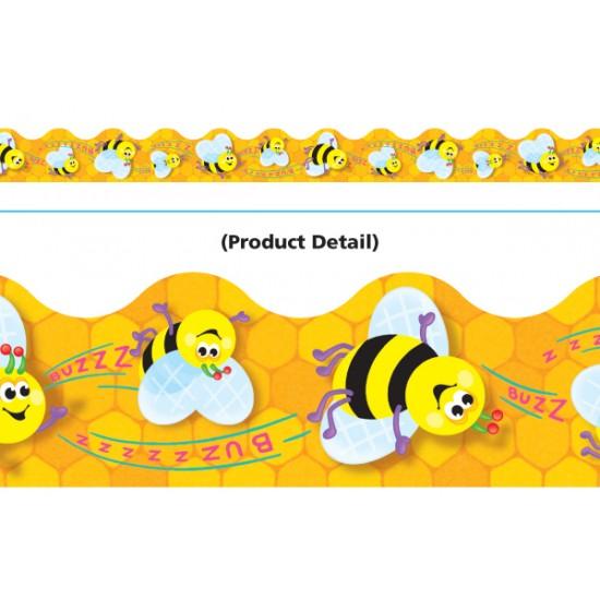 Bordure décorative: abeille