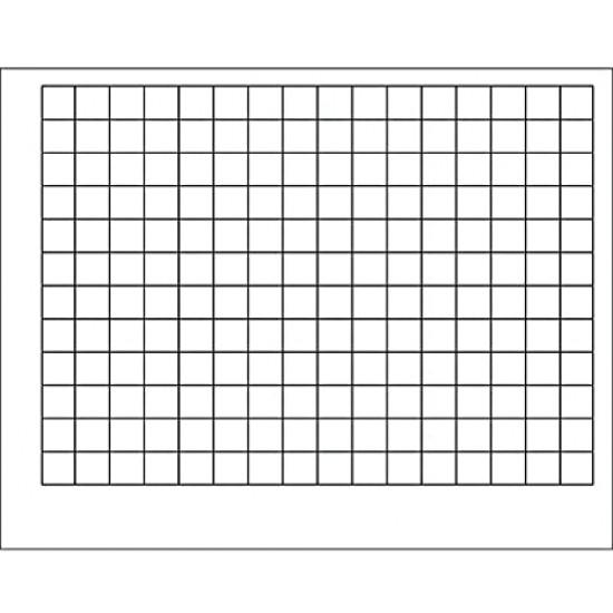 Affiche : Carrés 2.5 x 2.5 cm