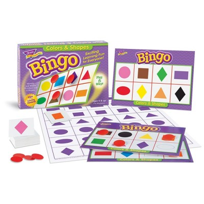 Bingo des Formes et des Couleurs
