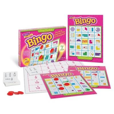 Bingo: Les Fractions