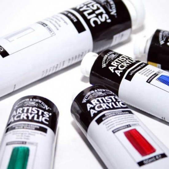 Acrylique artists 60ml série 4 (19 couleurs)