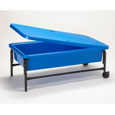 Bac bleu à eau et sable