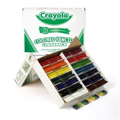 Crayons de couleur en bois : 462