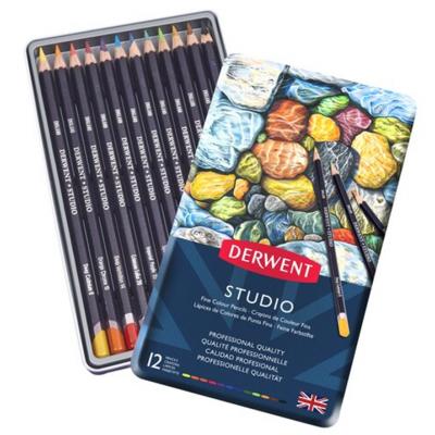 Crayons de couleur Studio : 12