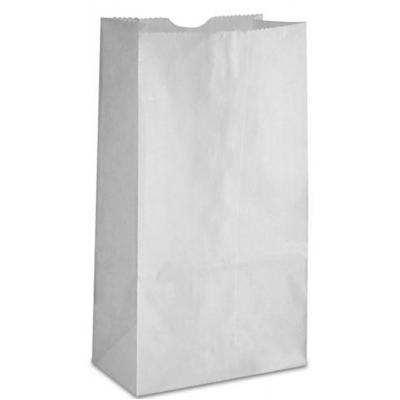 Sacs en papier blancs : 1lb.