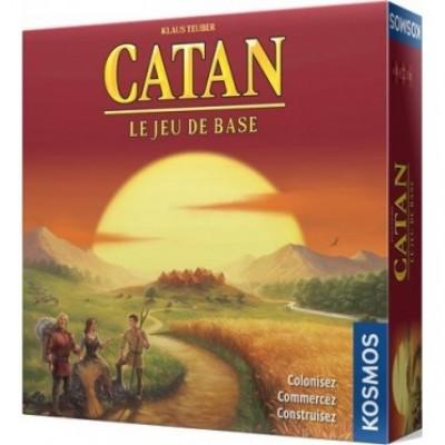 Catan :  Base 4 joueurs
