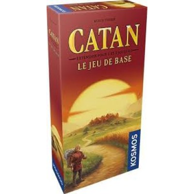 Catan : Base extension 5-6 joueurs