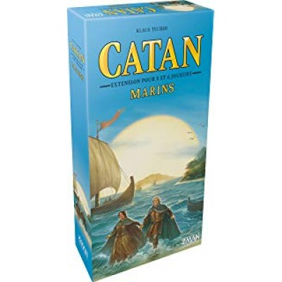 Catan : Marins  extension 5-6 joueurs