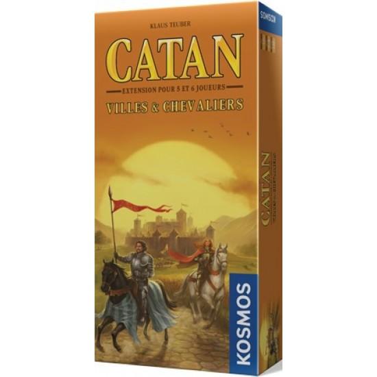 Catan: Villes et chevaliers extension 5-6 joueurs