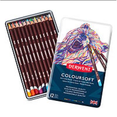 Crayons de couleurs Colorsoft  Derwent /12