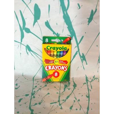 Ensemble de crayons de cire: 8