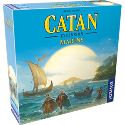 Catan : Marins  extension 4 joueurs