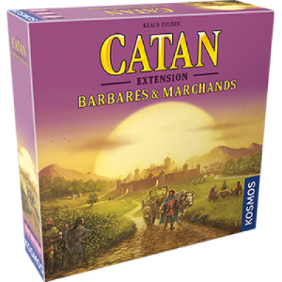 Catan : Barbares et marchands extension 4 joueurs