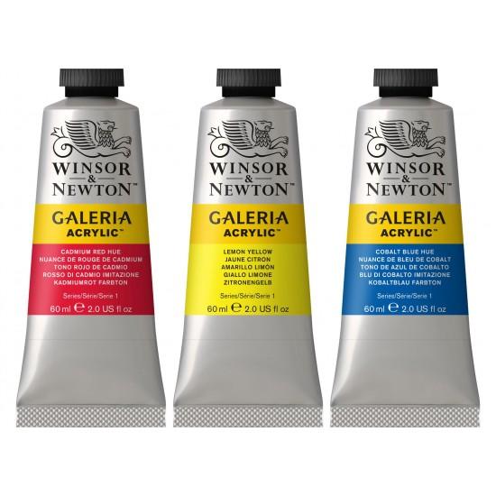 Acrylique galeria 60ml série 2 (7 couleurs)
