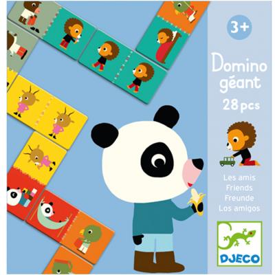 Domino géant : Les amis